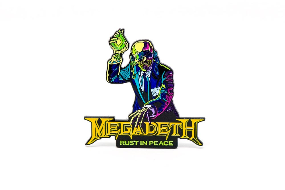 Image of Megadeth - Rust in Peace Enamel Pin