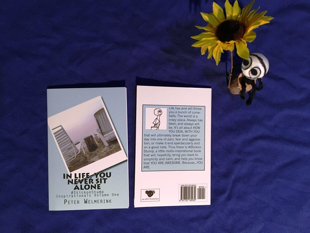 Image of IN LIFE, YOU NEVER SIT ALONE (book)
