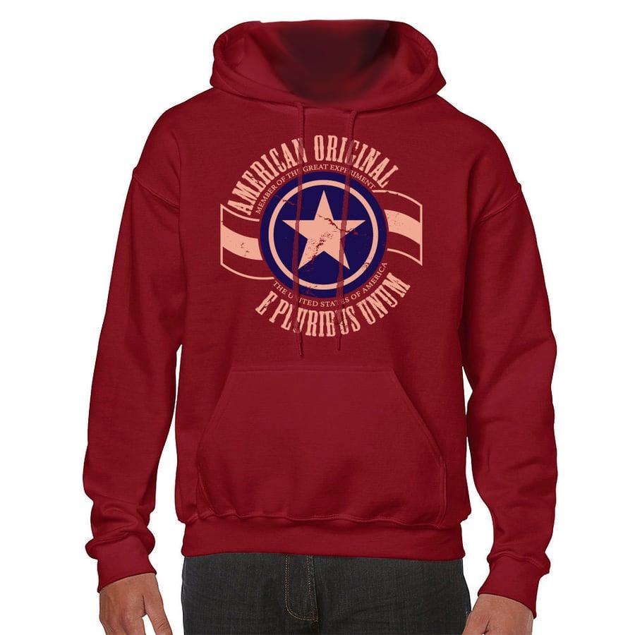 Image of American Original Hoodie (Red)