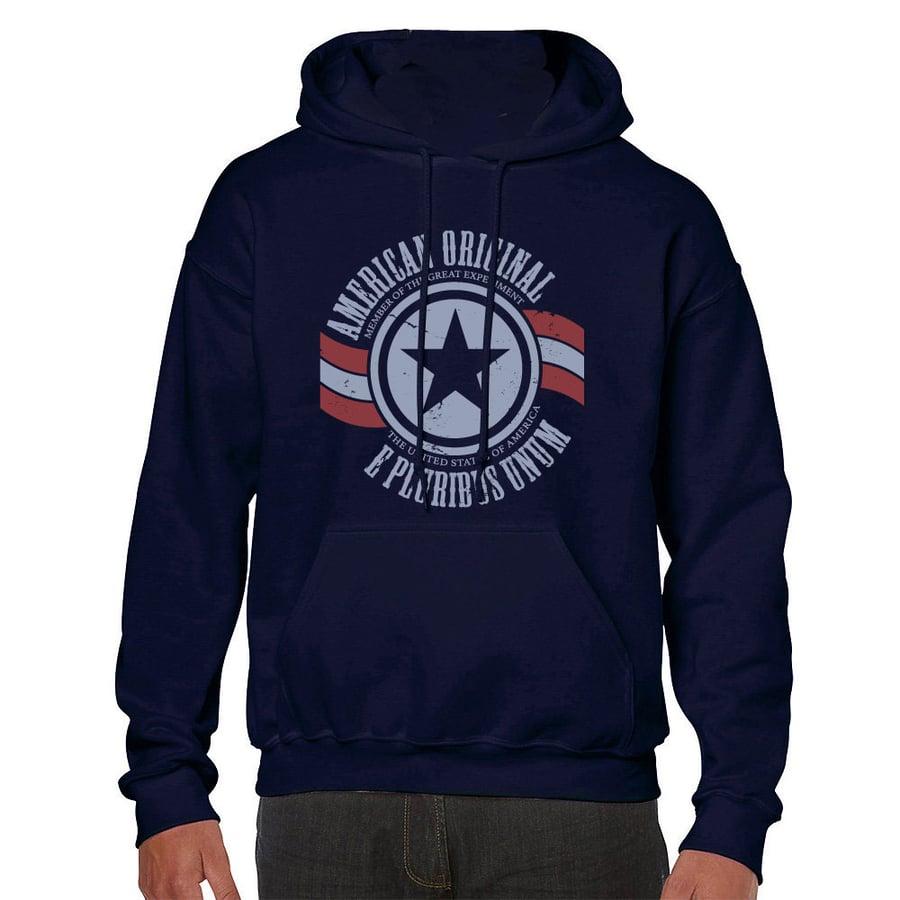 Image of American Original Hoodie (Blue)