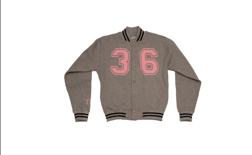 Image of Women's letterman style jacket