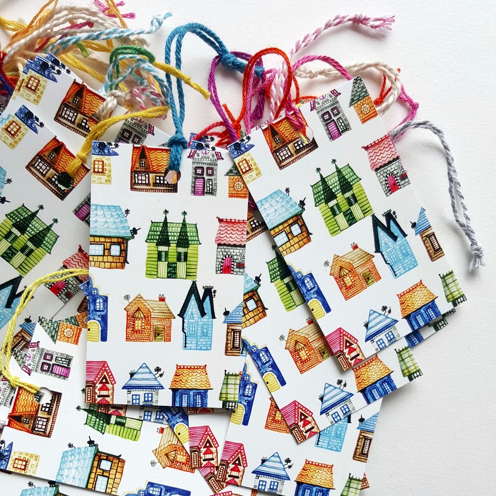 Image of happy homes gift tags (6 pack)