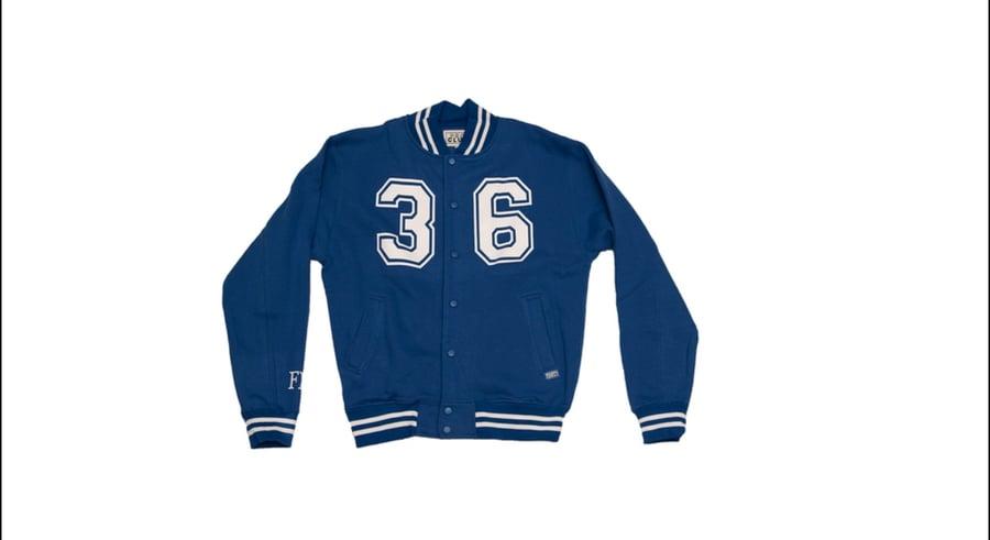 Image of Blue Lettermen style Jacket