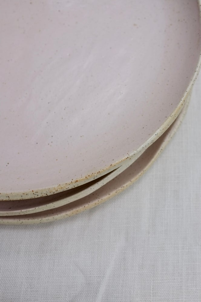 Image of Pink Dinner Plates