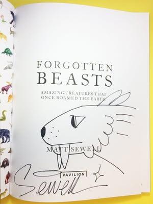 Image of Forgotten Beasts - Signed/Drawn Hardback