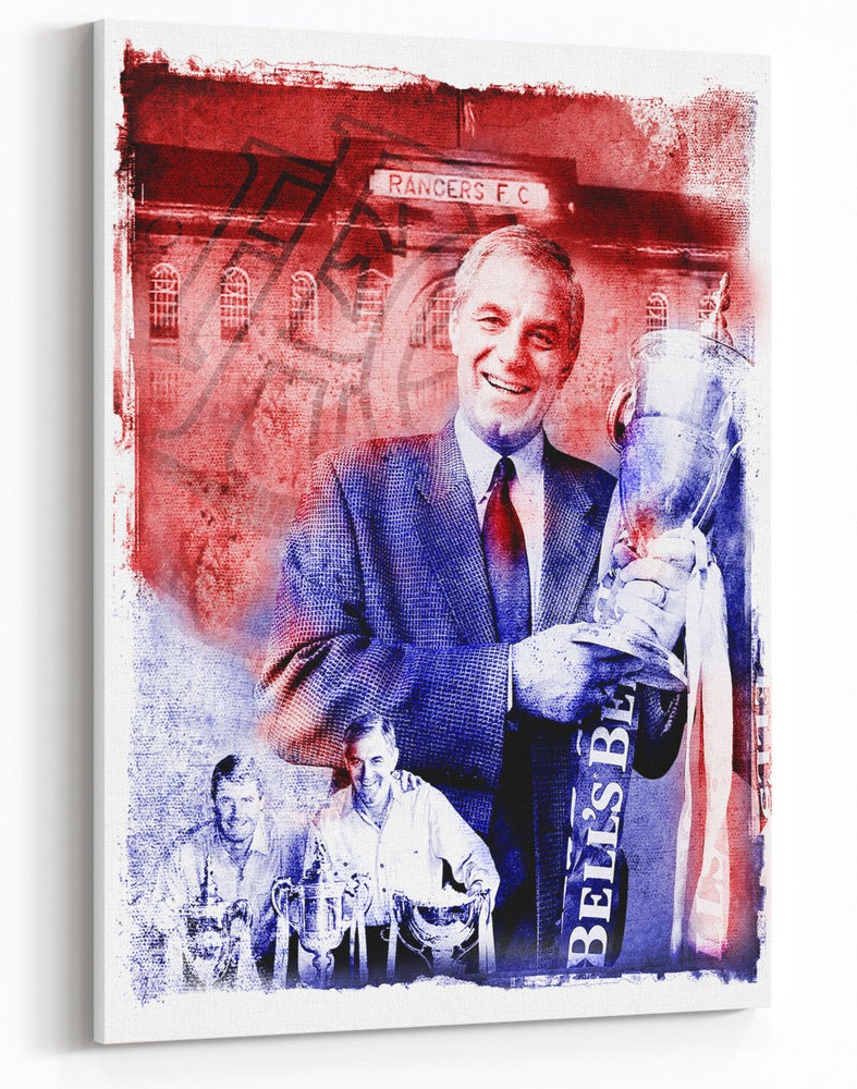 Image of Walter Smith Watercolour Canvas