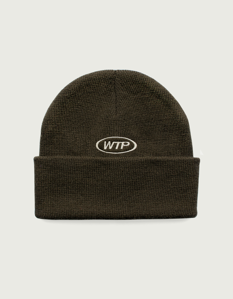 Image of Motors – Beanie (Olive & Black)
