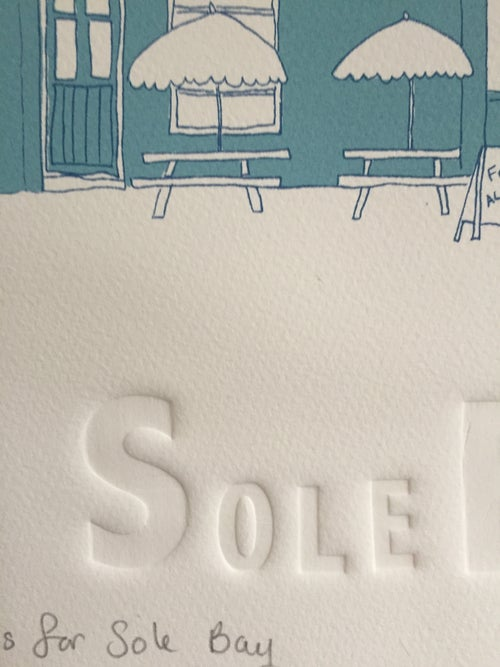 Image of S is for Sole bay