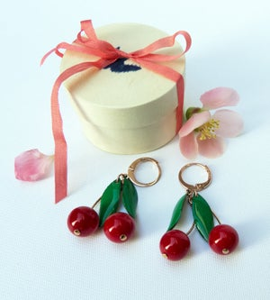 Image of Boucles Cerises Deluxe Edition - Doré Or Rose