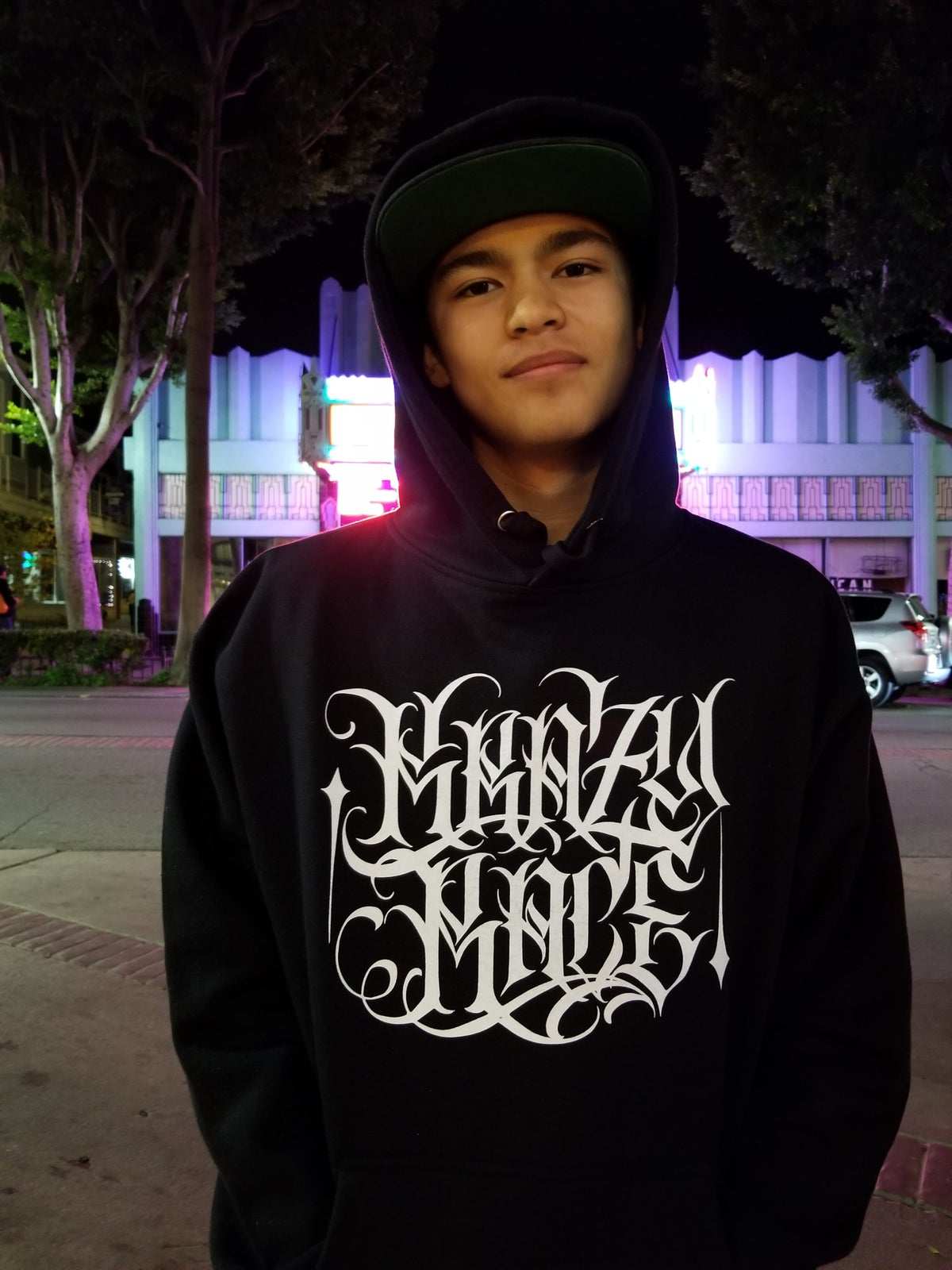 Image of New Limited Hoodie x New Krazy Race CD Bundle