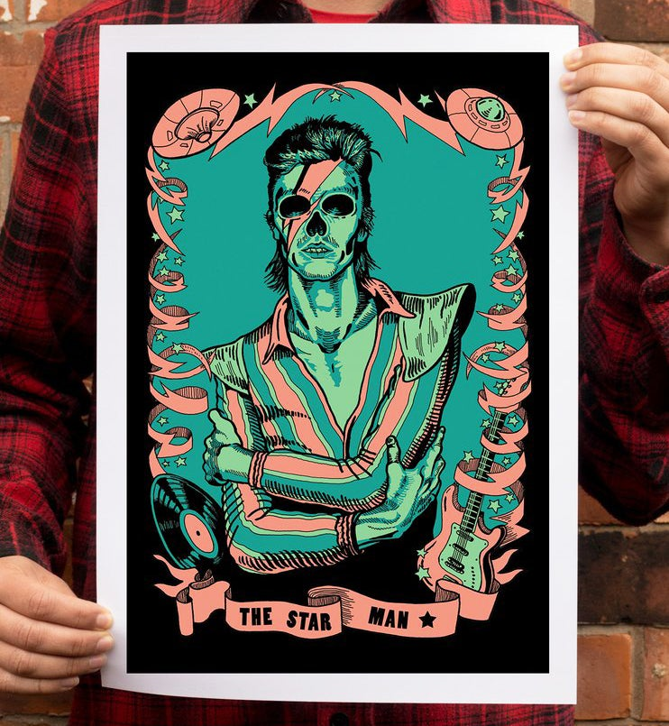 Image of The Star Man - A3 Limited Edition Art Print