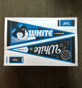 Image of Jack White Uncut Sheet Cooperstown, NY 2018