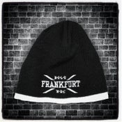 Image of Beanie Black & White FRANKFURT