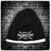 Image of Beanie Black & White FRANKFURT