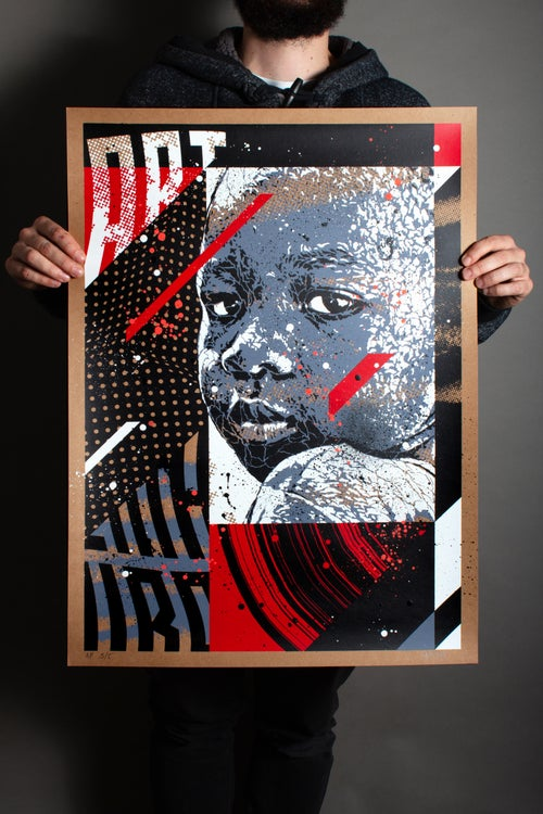 Image of THROWBACK / ARTIST PROOF / Silkscreen Limited Edition