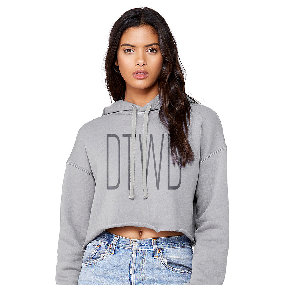 Image of DTWD - cropped hoodie