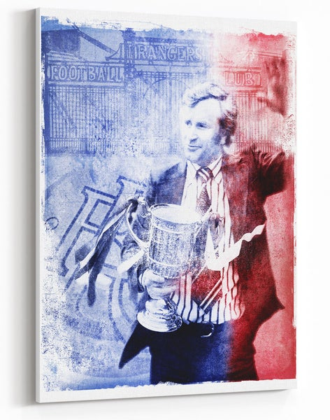 Image of Jock Wallace - 'Battle Fever' Canvas