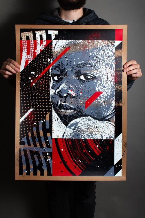 Image of THROWBACK / Silkscreen Limited Edition