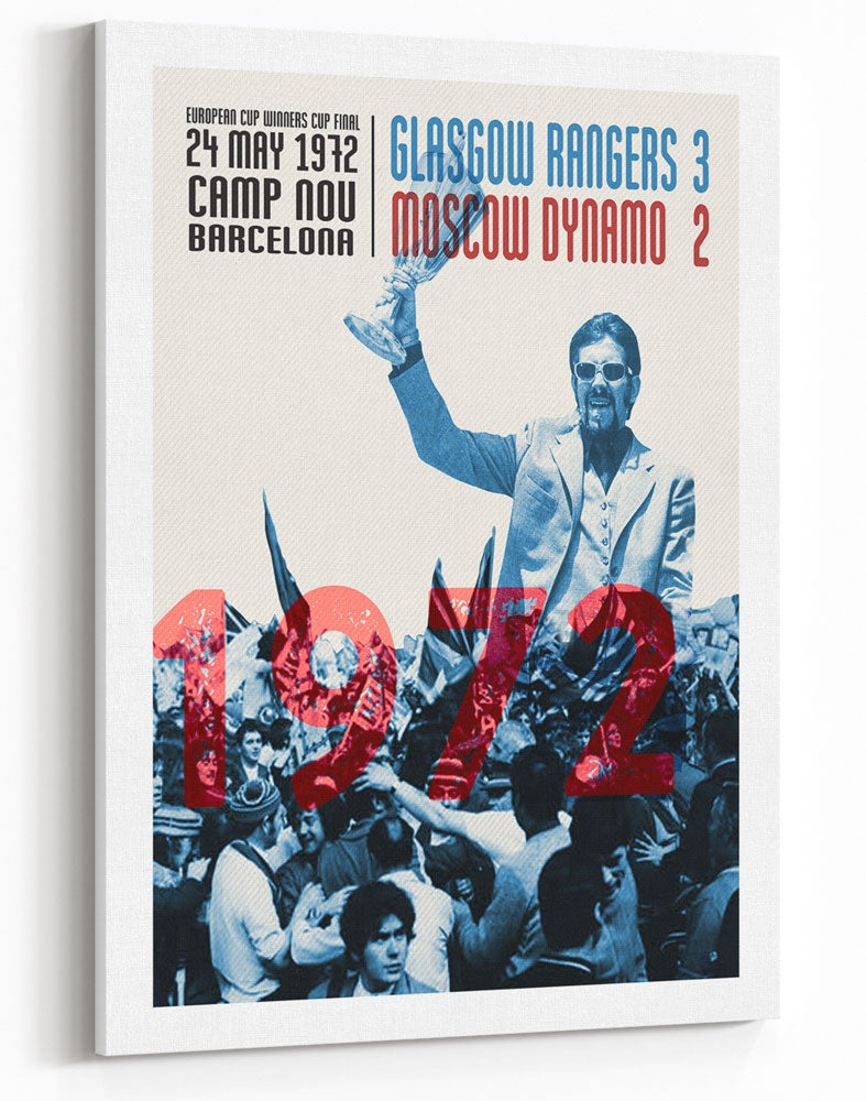 Image of 'In Barcelona, in 1972' - Rangers v Moscow Dynamo