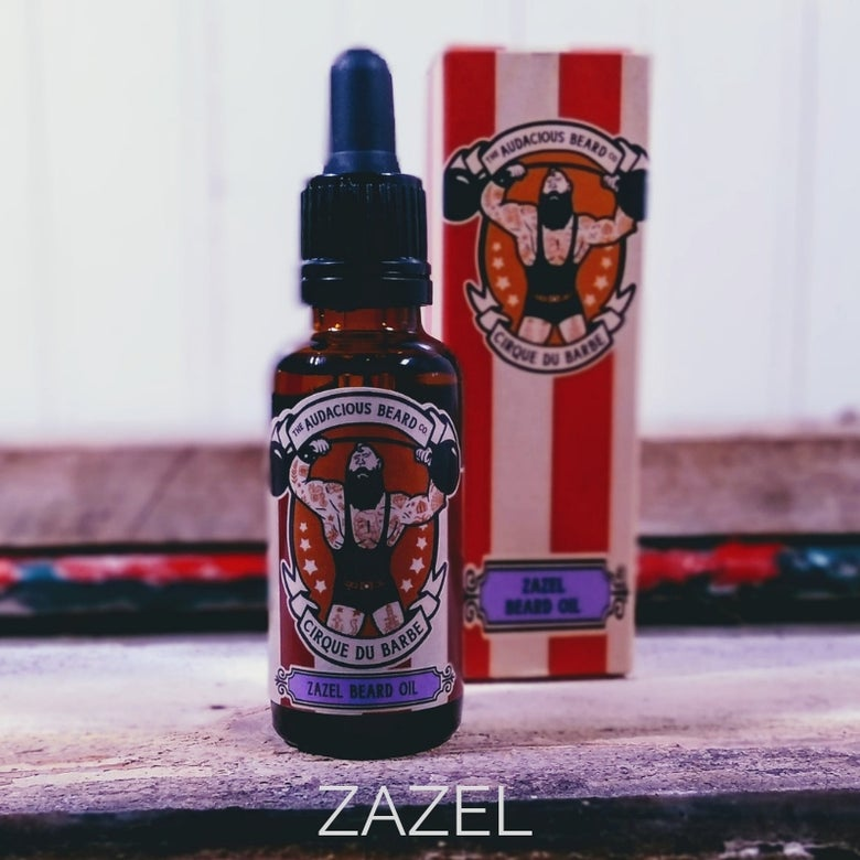 Image of Zazel beard oil - Cirque du Barbe