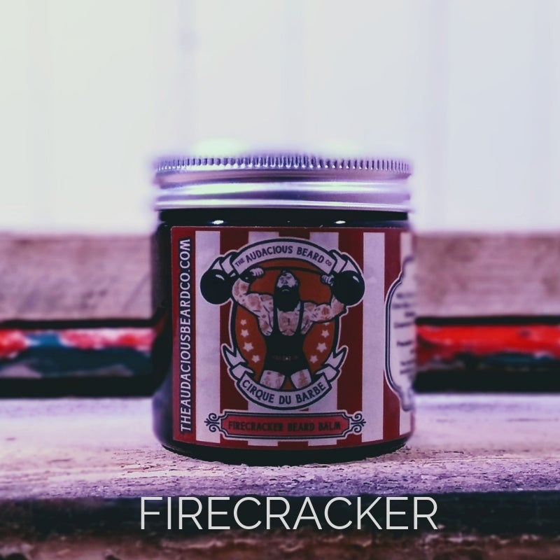 Image of Firecracker beard balm - Cirque du Barbe