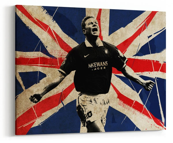 Image of Jorg Albertz - The Hammer, Union Flag Canvas