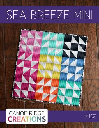 Image of Sea Breeze Mini Quilt #107, PDF Pattern