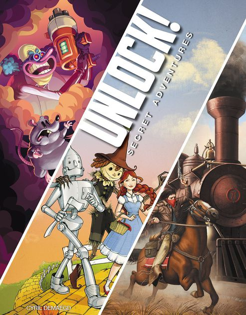 Image of UNLOCK! Escape Adventures BOX 3