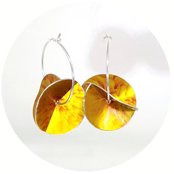 Image of Whirligig Earrings - Marigold