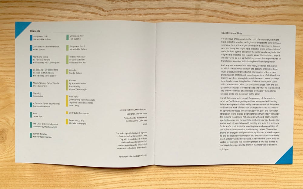 Image of Halophyte / Issue 2