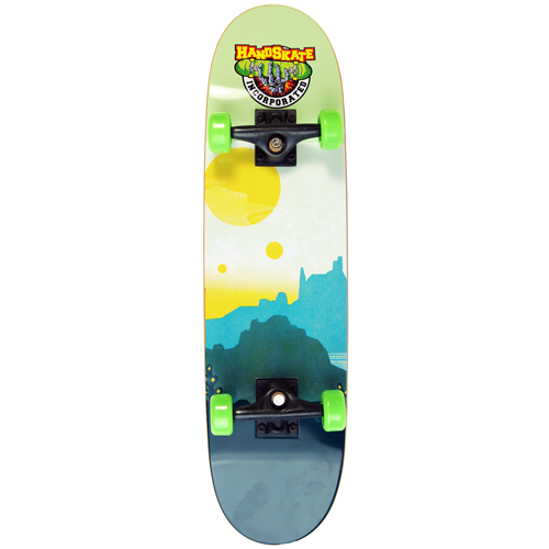 Image of 27cm Handskate Handboard - Mountains