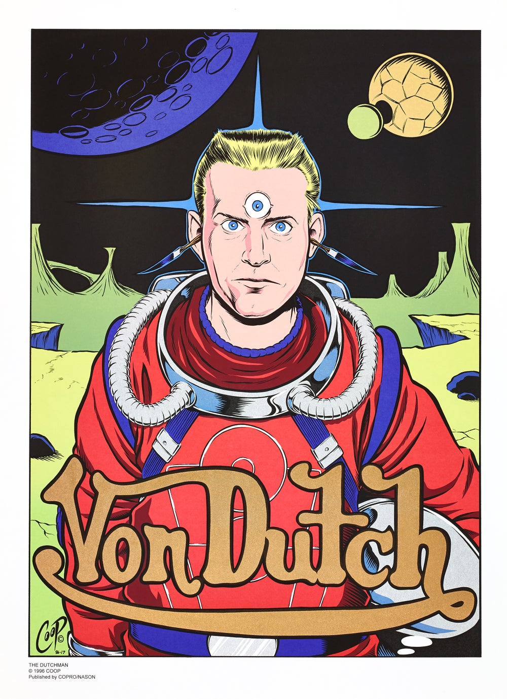 Image of VON DUTCH Vintage Silkscreen Print
