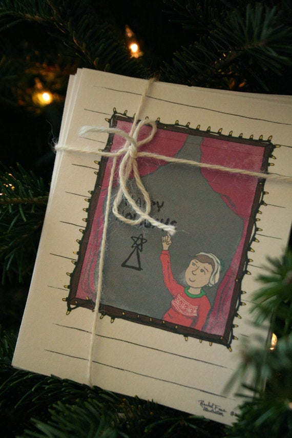 Image of Holiday Window Card