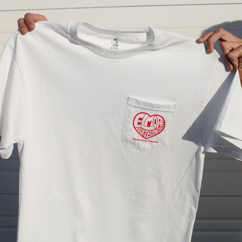 "Image of ""Handmade With Love"" Pocket T-Shirt"