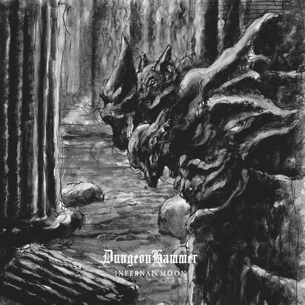 "Image of DUNGEÖNHAMMER ""Infernal Moon"" CD"