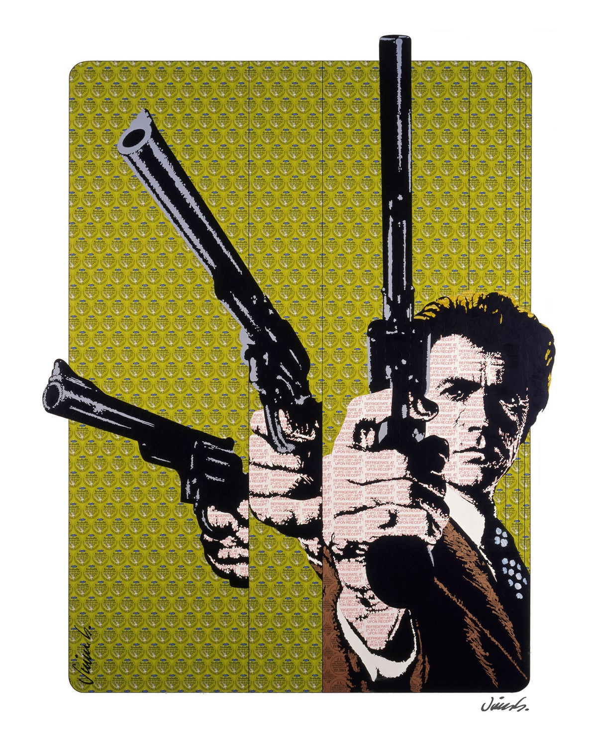 Image of DIRTY HARRY poster print