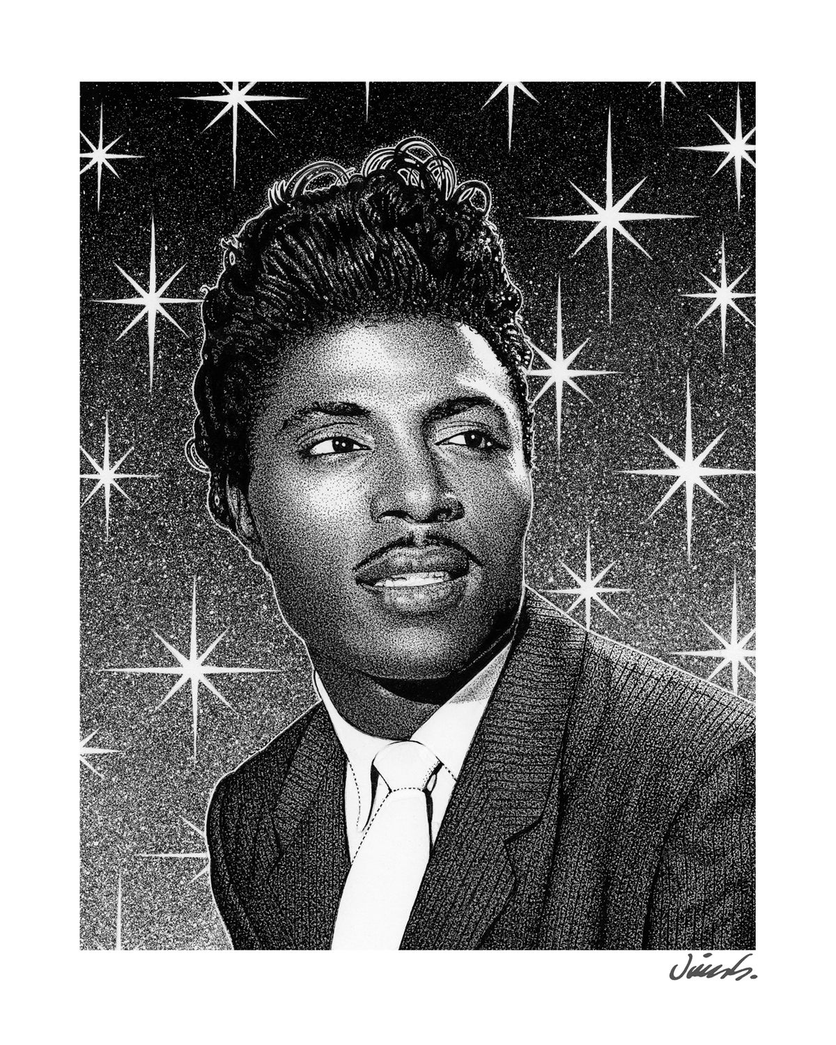 Image of LITTLE RICHARD poster print