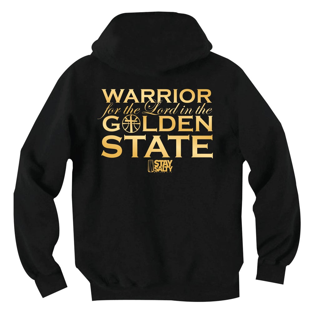 Image of StaySalty513 - Warrior for the Lord (blk/gold)