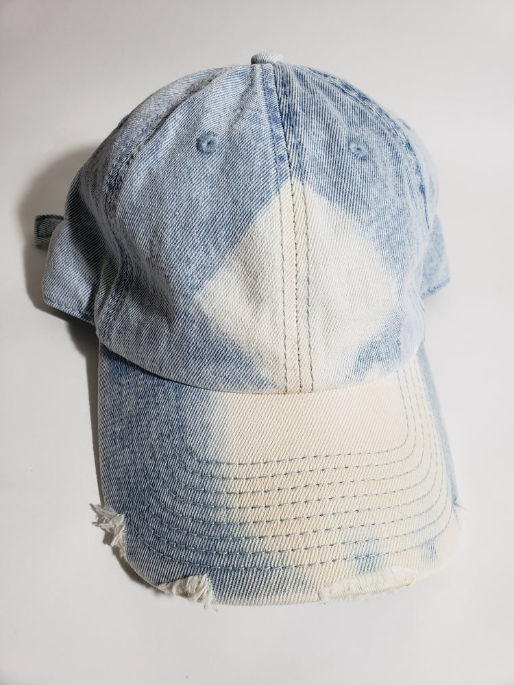Image of Bleached denim