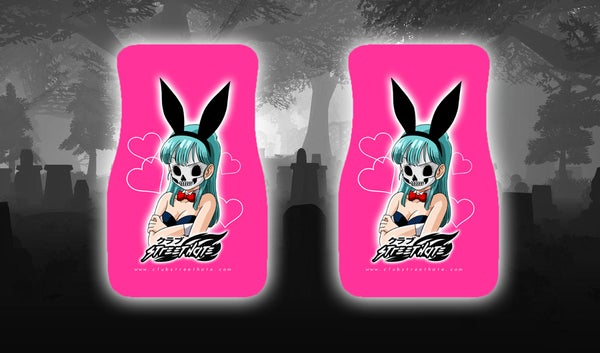 Image of Bulma floor mats (made to order )