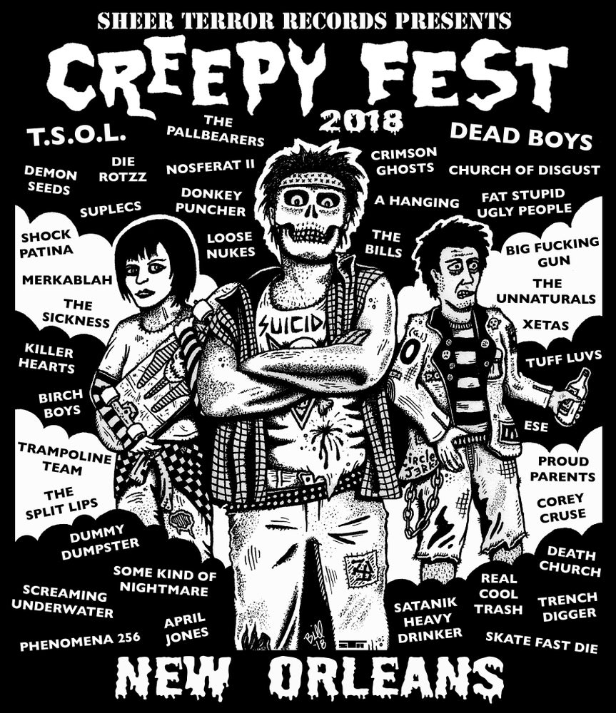 Image of Creepy Fest 2018 Shirt