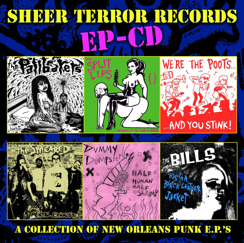Image of Sheer Terror Records EP-CD Compilation CD