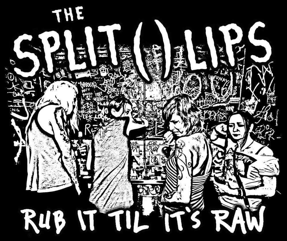 Image of The Split ( ) Lips Raw Shirt