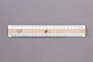 Image of RIGHELLO DI LEGNO / WOODEN RULER