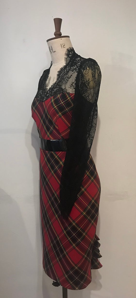 Image of Tartan leather and lace Blitz