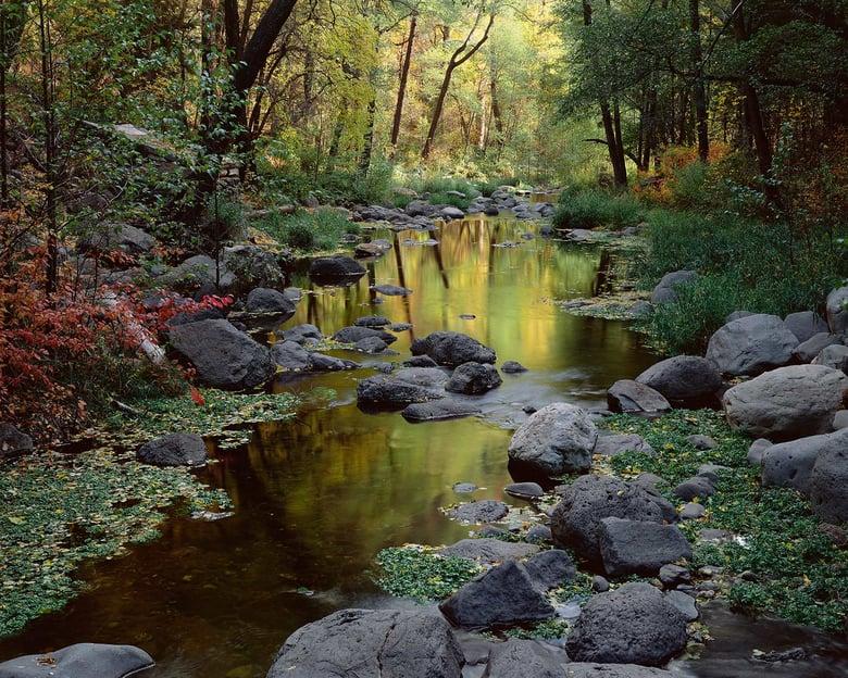 Image of Oak Creek, Autumn, Oak Creek Canyon, Arizona