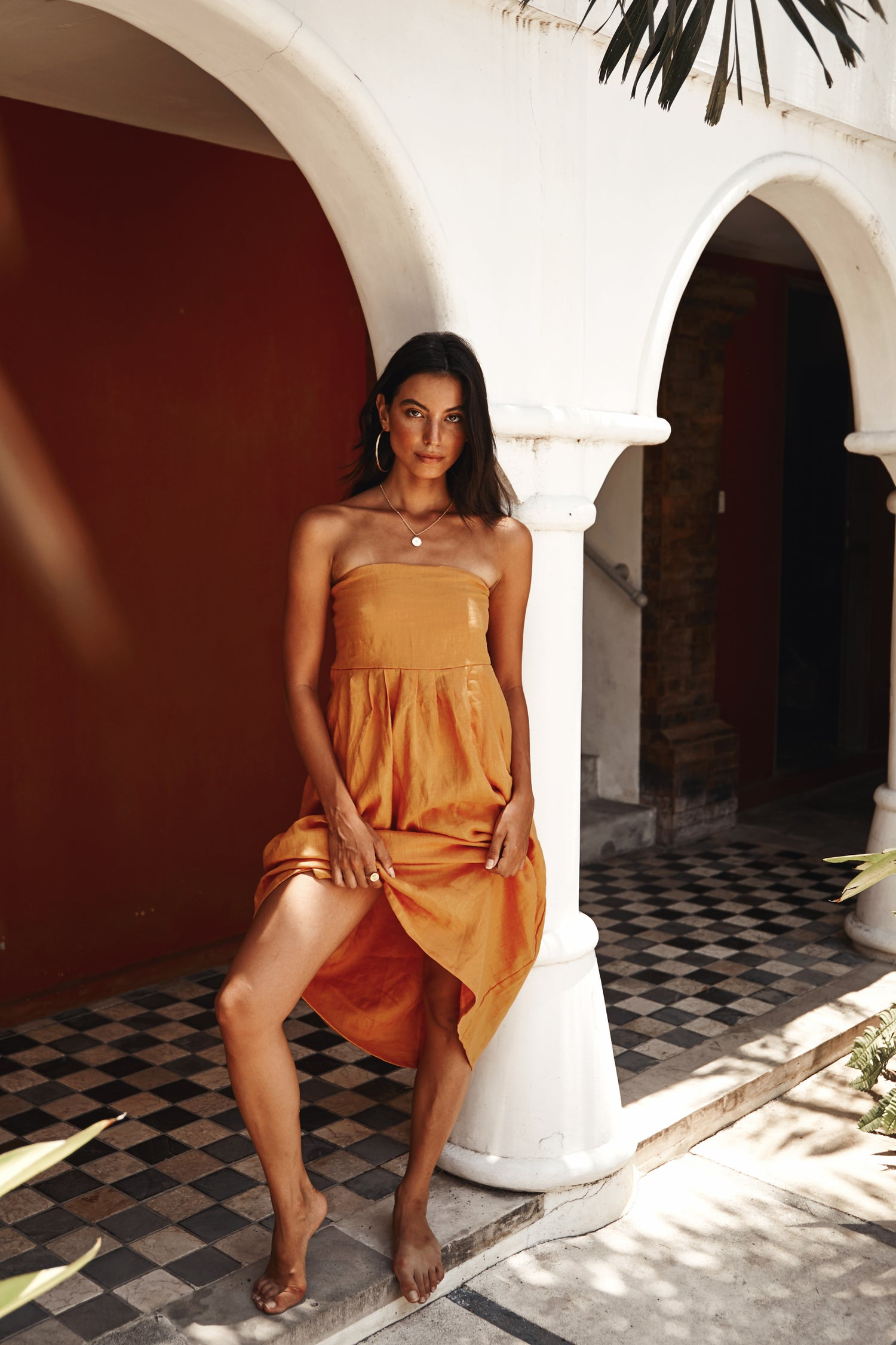 Image of HANALEI DRESS - MANGO