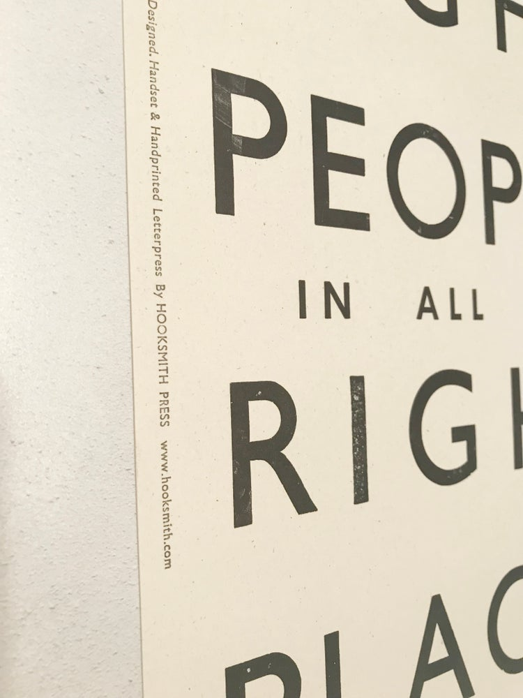 Image of All the wrong / right people prints by Hooksmith Press