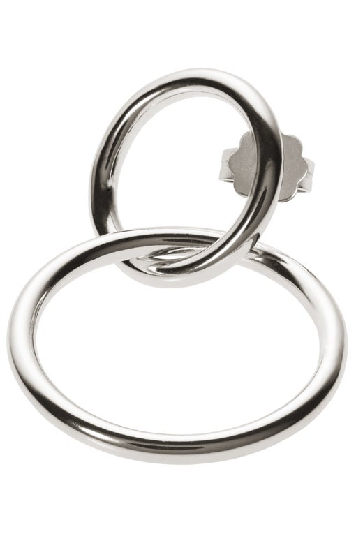 Image of ALTAIR earring single sterling silver