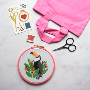 Image of Toucan Complete Xstitch Package